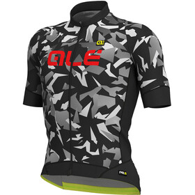 Alé Cycling Graphics PRR Glass SS Jersey Men black-grey
